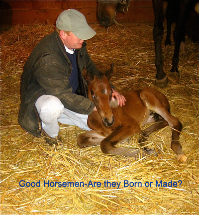 Good Horsemen-Are They Born or Made?