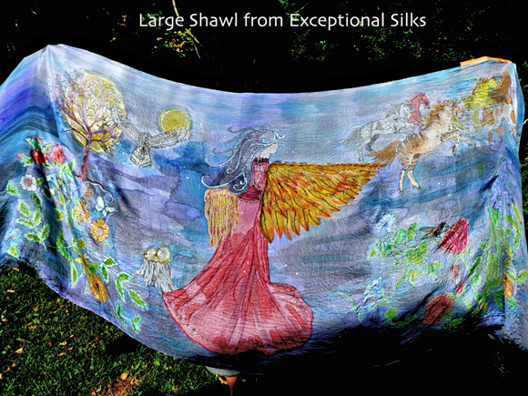 Exceptional Silks-Shawl
