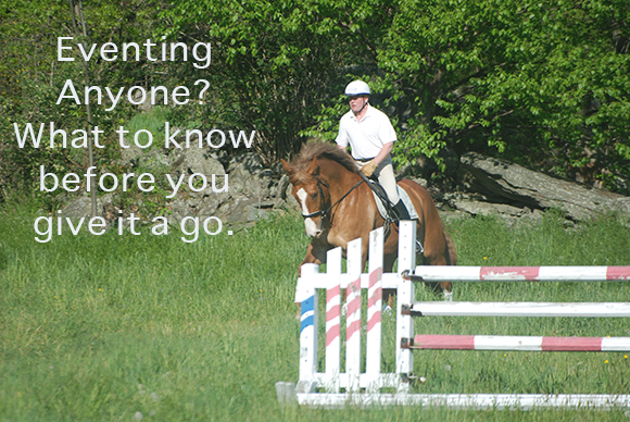 Eventing Anyone? What to know before you give it a go.
