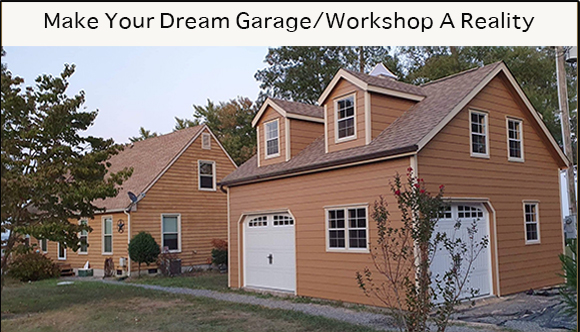 Make Your Dream Garage/Workshop A Reality