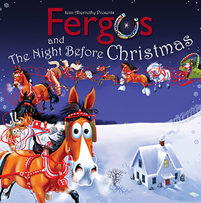 Fergus and the Night Before Christmas < from author Jean Abernethy