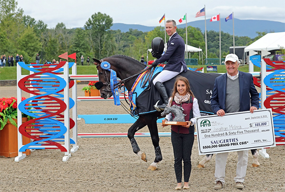 Jonathan McCrea Rides to a Double Clear Victory in the Saugerties $500,000 Grand Prix FEI CSI5*!