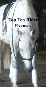 Top Ten Rider Excuses