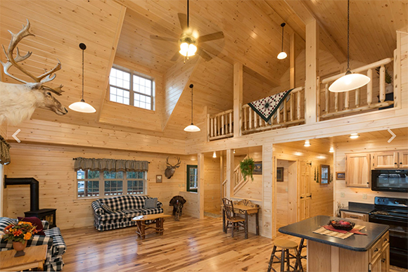 Cozy Up Cabins and Luxury Log Homes ~ Big and Small, Zook Cabins Builds Them All By Nikki Alvin-Smith