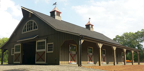 How To Build A Horse Barn With Charm