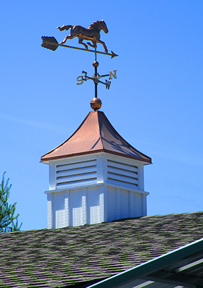 "The Weather Vane ~ ""The Cherry On Top"" of Your New Structure"