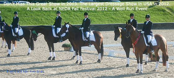 Don't Miss This Show - Largest Dressage Show in U.S.A.