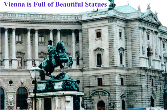 Vienna is Full of Beautiful Statues