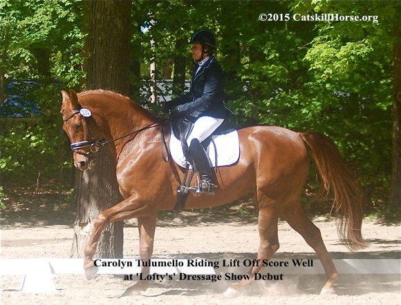 Spotlight On Dressage At Saratoga 2015 By Nikki Alvin Smith