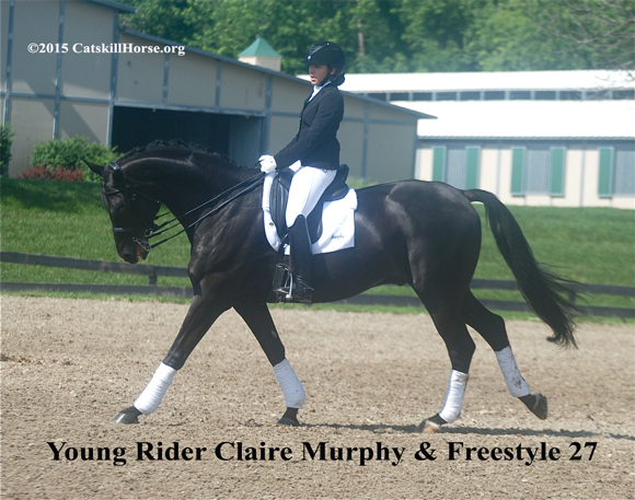 Claire Murphy riding Freestyle 27