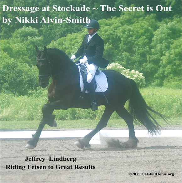 Dressage at Stockade ~ The Secret is Out by Nikki Alvin-Smith