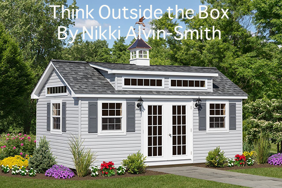 Think Outside the Box  By Nikki Alvin-Smith