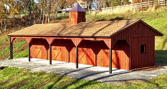 Fresh Air Everywhere ~ Why The Shed Row Barn is Popular By Nikki Alvin-Smith