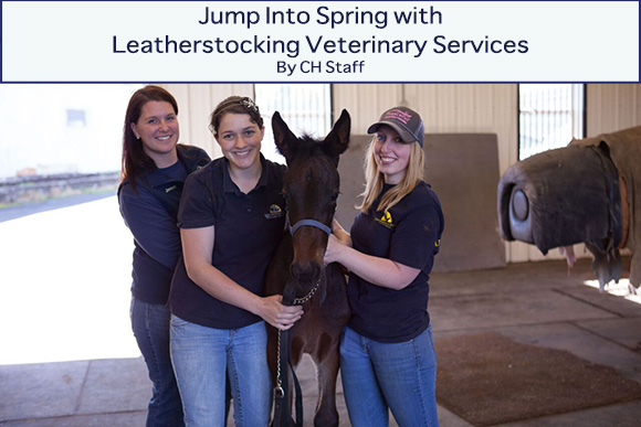 ump Into Spring with Leatherstocking Veterinary Services~ CH Staff