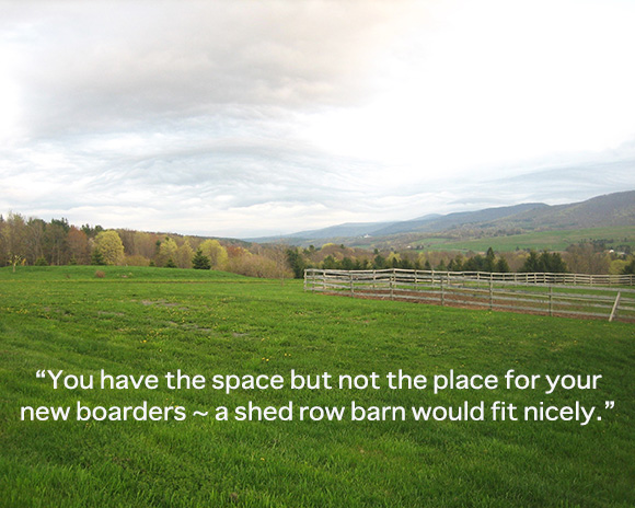 Is Your Horse Boarding Operation Out of Space? By Nikki Alvin-Smith