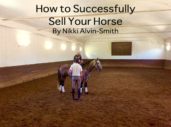 Sell Your Horse By Nikki Alvin-Smith