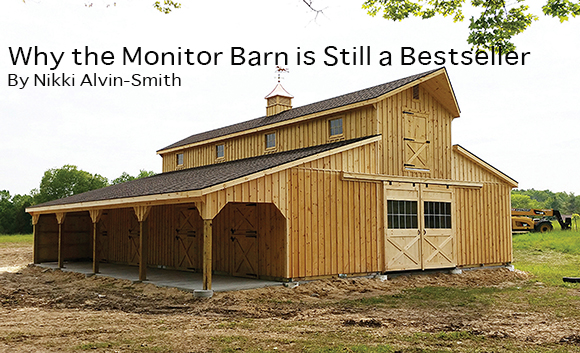 Why the Monitor Barn is Still a Bestseller  By Nikki Alvin-Smith