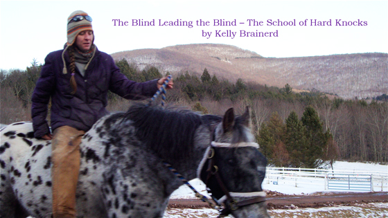 The Blind Leading the Blind – The School of Hard Knocks by Kelly Brainerd