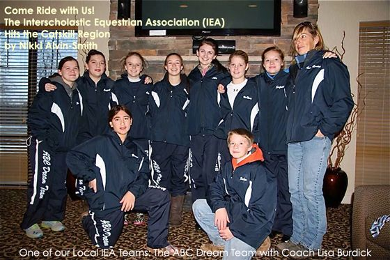 Come Ride with Us! The Interscholastic Equestrian Association (IEA) Hits the Catskill Region
