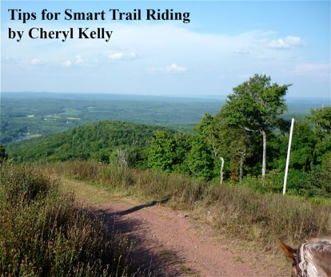 Tips for Smart Trail Riding by Cheryl Kelly